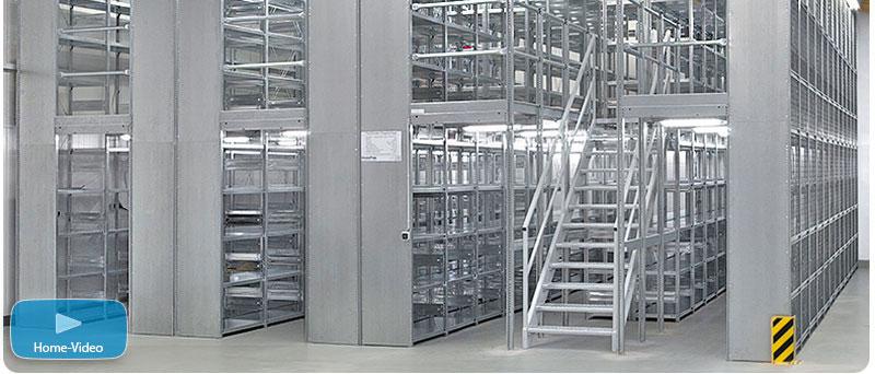 Kellerregal wandmontage  Regalsystem Metall Büro | ambiznes.com